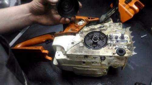 250 Stihl Does Not Go Oil