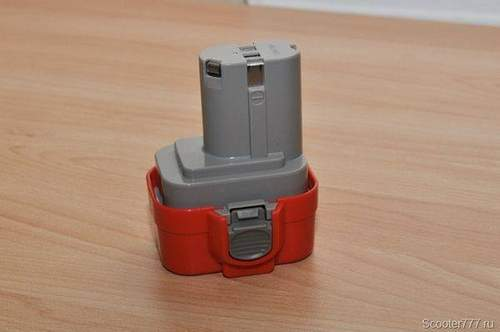 Alteration of the Makita Screwdriver Battery For Lithium