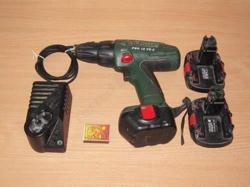 Bosch Screwdriver 12 Volt Alteration