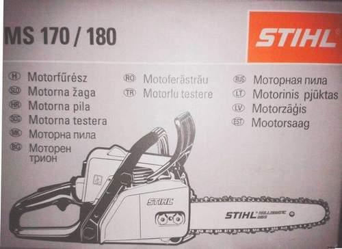 Build Stihl ms 180 videos