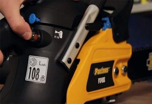 Carburetor Adjustment Chainsaw Partner 340s