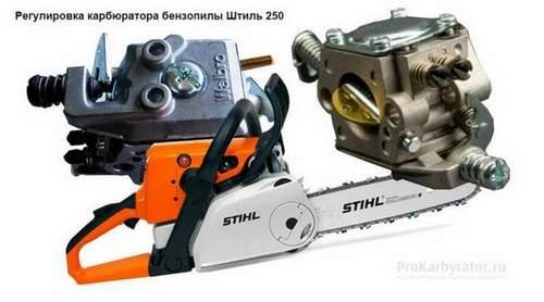 Carburetor Adjustment Stihl 250 Chainsaw