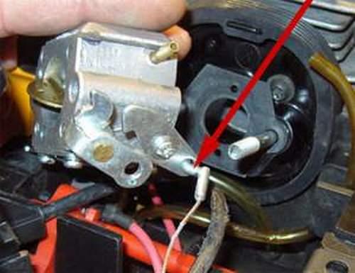 Carburetor Adjustment Stihl 250 Screw Position