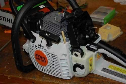 Carburetor Adjustment Stihl 361 Chainsaw