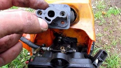 Doesn't Start Trimmer Petrol Patriot 555