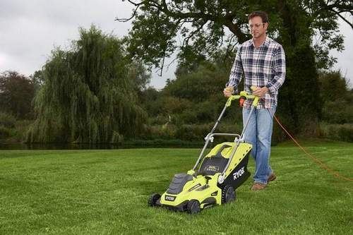 Features of the Operation of Electric and Battery Lawnmowers Ryobi (Riobi) (Video)