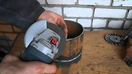 How to Chamfer a Pipe Angle Grinder