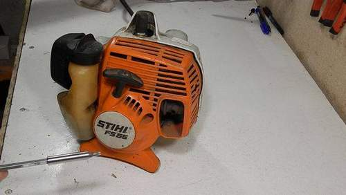 How to Change a Flywheel to a Stihl 55 Trimmer
