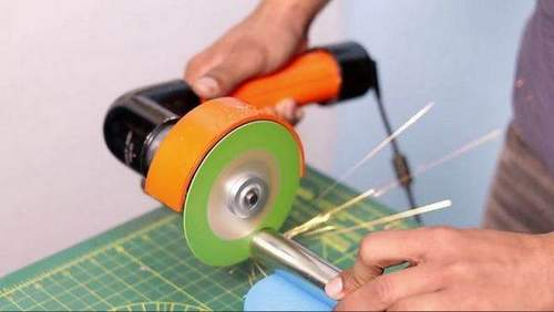 How To Connect An Angle Grinder Through A Wire