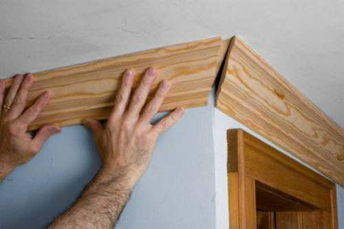 How to Cut Ceiling Skirting Using a Miter Box