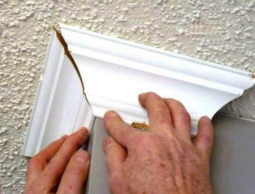 How to Cut Exterior Ceiling Plinth