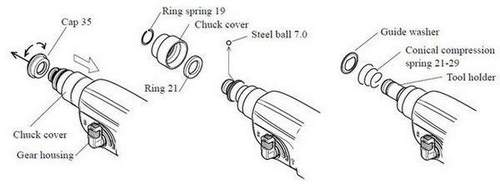 How to Disassemble the Makita 2450 Barrel