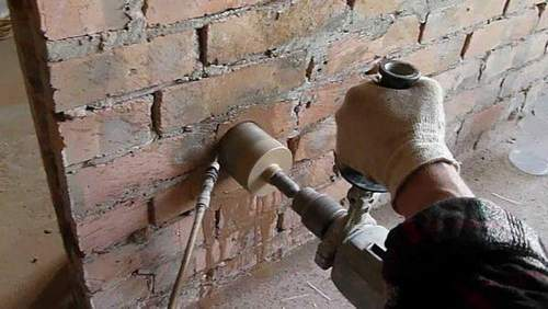 How to Drill a Brick with an Ordinary Drill