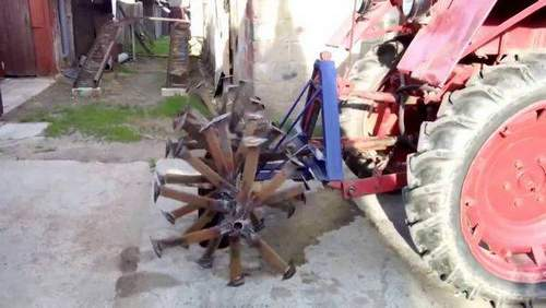 How to Make a 25 Cultivator