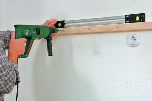 How to Make a Hole In a Wall Drill
