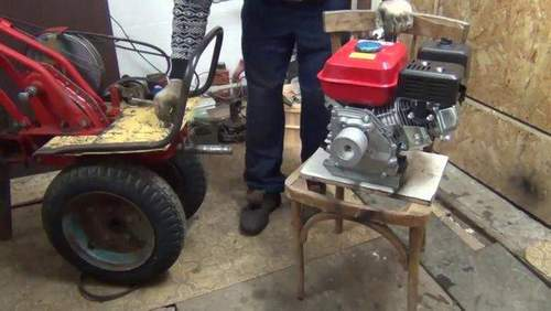 How to Make a Tiller from Champion 40 Engine