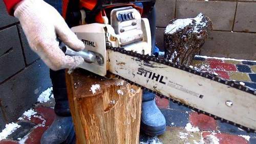 How to Put a Chain on Stihl