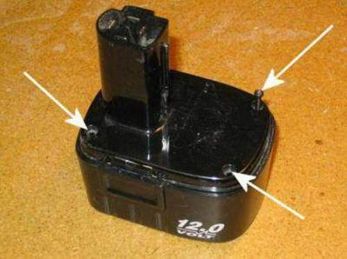 How to Recover a Lithium Cordless Battery For a Screwdriver