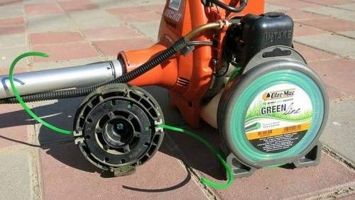 How to Wind a Husqvarna Trimmer Coil