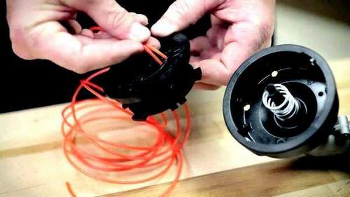 How to Wind a Spring on a Huter Trimmer