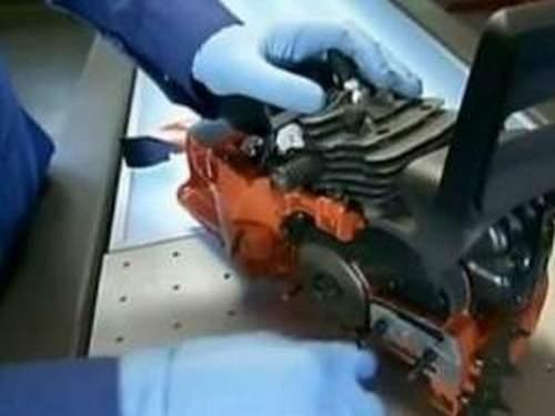 Partner 350 How To Remove A Carburetor