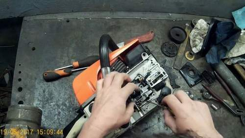 Partner Chainsaw Oil Pump Replacement