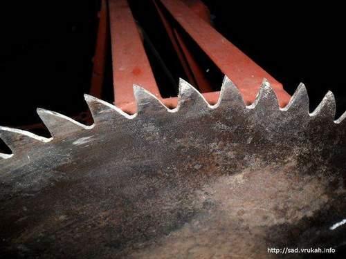 Sharpening Saws At Home