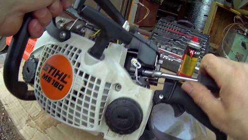 Stihl 180 Not Adjustable Idle