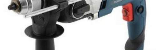 What is the difference between an impact drill and a conventional drill?