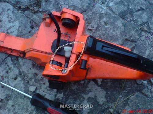 Where the Breather Is In The Chinese Chainsaw