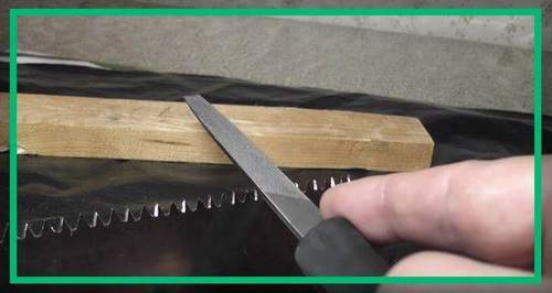 Where You Can Sharpen A Hacksaw