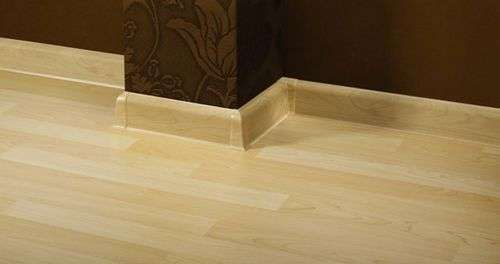 How To Cut A Plastic Skirting Board For The Floor