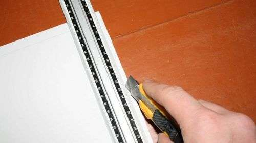 How To Cut Plastic Wall Panels