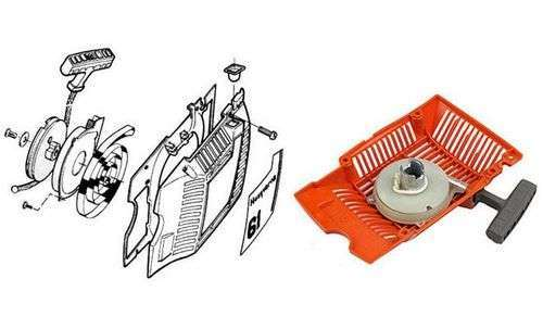 How To Put A Spring On A Chainsaw