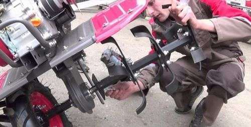 How To Assemble Cutters On A Walk-Behind Tractor