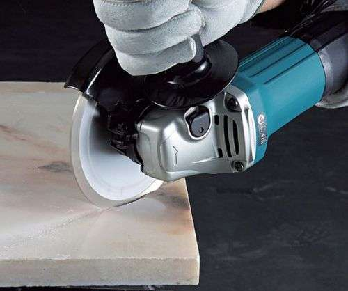 How To Cut Porcelain Stoneware Tiles With A Grinder Without Chips