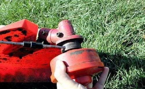 How To Wind The Line Into The Trimmer Reel Of Petrol Cutters