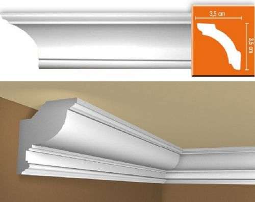 How To Cut A Plastic Ceiling Plinth