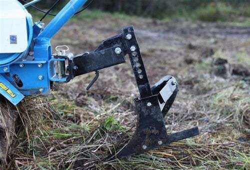 Installation Of A Plow On A Walk-Behind Tractor Video