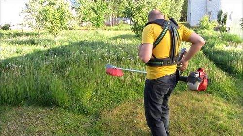 How To Cut Grass With A Line Trimmer