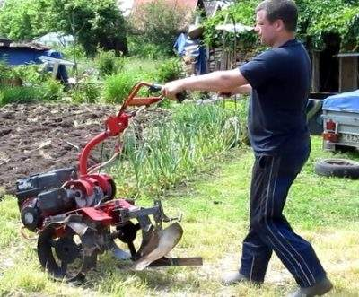 How To Plow Properly With A Tiller With Cutters