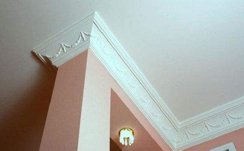 How To Properly Cut The Ceiling Plinth In The Corners