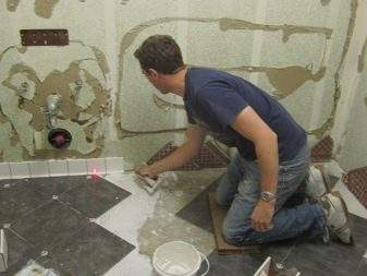 How To Cut Ceramic Tiles In An Angle Grinder