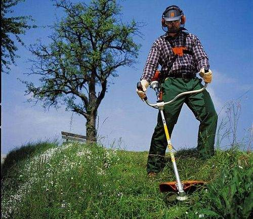 Running In The Gas Trimmer