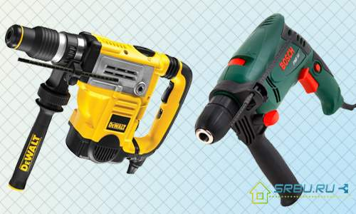 The Difference Between A Drill And A Hammer Drill