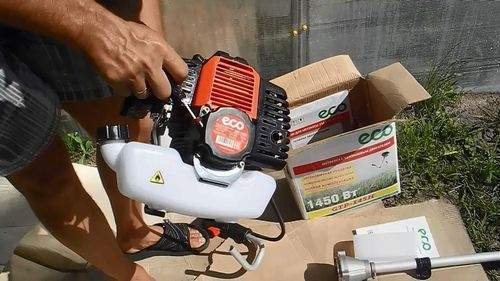 Assembling A Petrol Trimmer