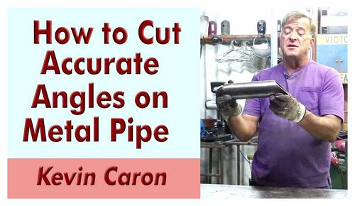 How To Cut Pipe At 45 Degrees Angle Grinder