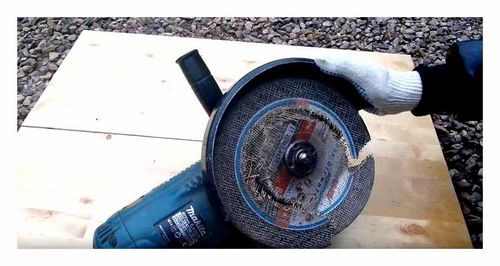 Which Disc To Cut The Laminate Angle Grinder