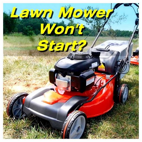 The Lawn Mower Will Not Start On A Cold